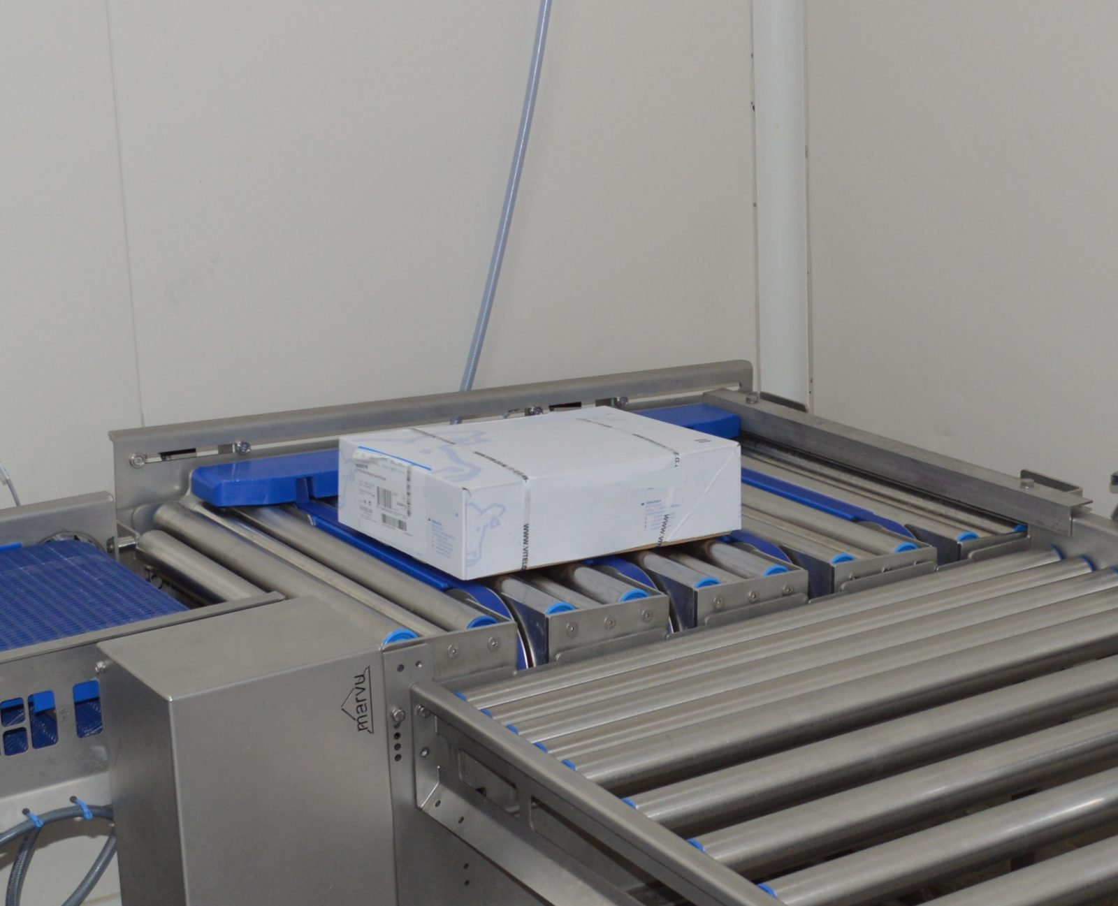 Roller conveyors for the food industry – Marvu   Marvu